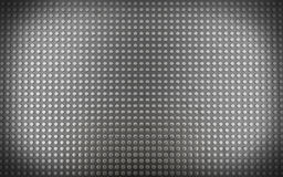 Metal background with seamless pins (3d render) Royalty Free Stock Photography
