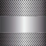 Metal background. Stock Image