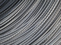 Metal Background - Steel wire cable Stock Photos Stock Image