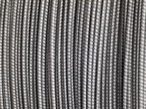 Metal Background - Steel wire cable Stock Photos Royalty Free Stock Images