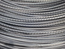 Metal Background - Steel wire cable Stock Photos Stock Photography