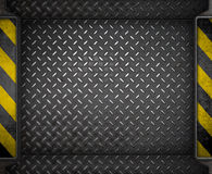 Metal background template Royalty Free Stock Images