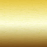 Metal background, texture of brushed gold plate Stock Photography