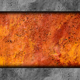Metal background texture old rusty grunge iron Royalty Free Stock Photos