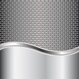 Metal background for your design Royalty Free Stock Photo