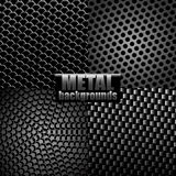 Metal backgrounds Royalty Free Stock Image