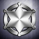 Metal badge design Stock Photo
