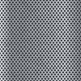 Metal bakgrund med cirklar Arkivbild