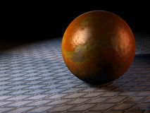 Metal ball Stock Photography