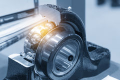The metal  ball bearing spare part Royalty Free Stock Image