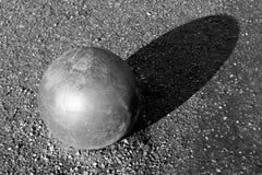 Metal ball Stock Photo