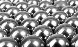 Metal balls Stock Photo