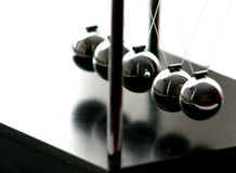 Metal balls 2 Royalty Free Stock Photo