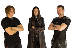 Metal band Royalty Free Stock Photography