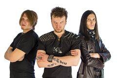 Metal band Stock Photography