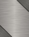 Metal banner Stock Photography