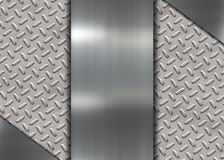 Metal banner Royalty Free Stock Images