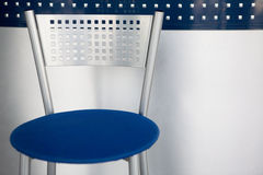 Metal bar chair Royalty Free Stock Photo