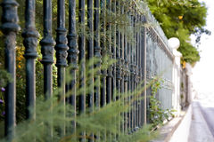 Metal Bar Fence Royalty Free Stock Photography