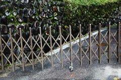 Metal bariera obraz stock