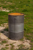 Metal Barrel Royalty Free Stock Images
