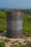Metal Barrel Stock Image