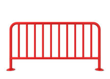 Metal barrier Royalty Free Stock Images