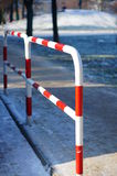 Metal barrier Stock Photography