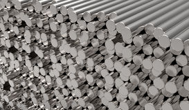 Metal bars Royalty Free Stock Images