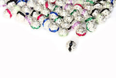 Metal beads Royalty Free Stock Image