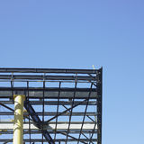 Metal beam structure Royalty Free Stock Images