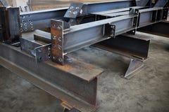 Metal beams Royalty Free Stock Photos