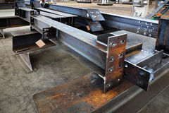 Metal beams Stock Photos
