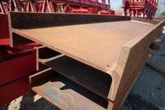 Metal beams Stock Image