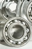 Metal bearing. CNC technology, machining, milling lathe and dril Stock Photos
