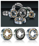 Metal bearings Royalty Free Stock Images