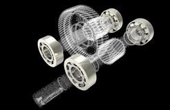 Metal bearings Stock Photos