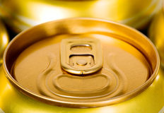 Metal beer can, unopened Royalty Free Stock Images