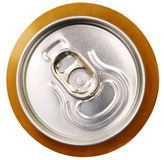 Metal beer can, unopened Royalty Free Stock Photography