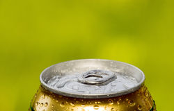 Metal beer can, unopened Stock Photography