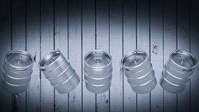 Metal Beer Keg Royalty Free Stock Photos