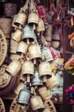 Metal bells from Zakopane Stock Images