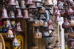 Metal bells from Zakopane Royalty Free Stock Image