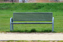 Metal bench Royalty Free Stock Images