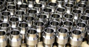 Metal Beschläge in der Fabrik Lizenzfreie Stockbilder