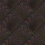 Metal bezszwowa tekstura z geometrycznym wzorem ilustracji