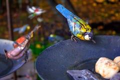 Metal bird Stock Photos