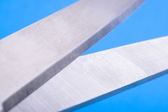 Metal blades. Royalty Free Stock Photography