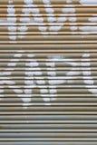 Metal blind Royalty Free Stock Photo