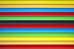 Metal blinds colors Stock Photography